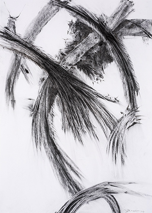 Drawing-001 40x30 Charcoal